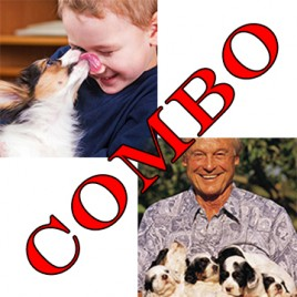 dogs and children and puppy care certificate combo